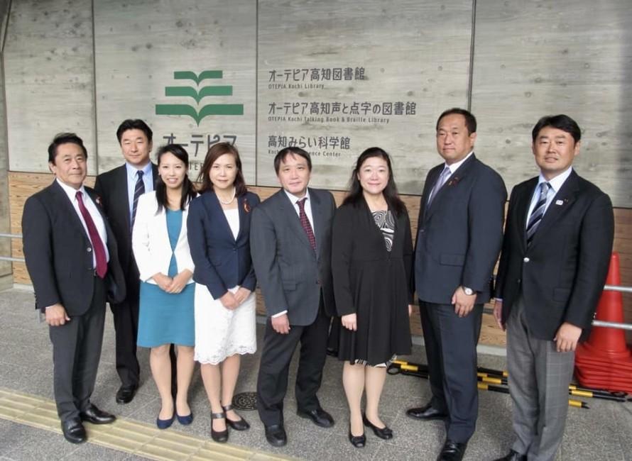 2018年11月1日 区民文教常任委員会の仕事で四国です。