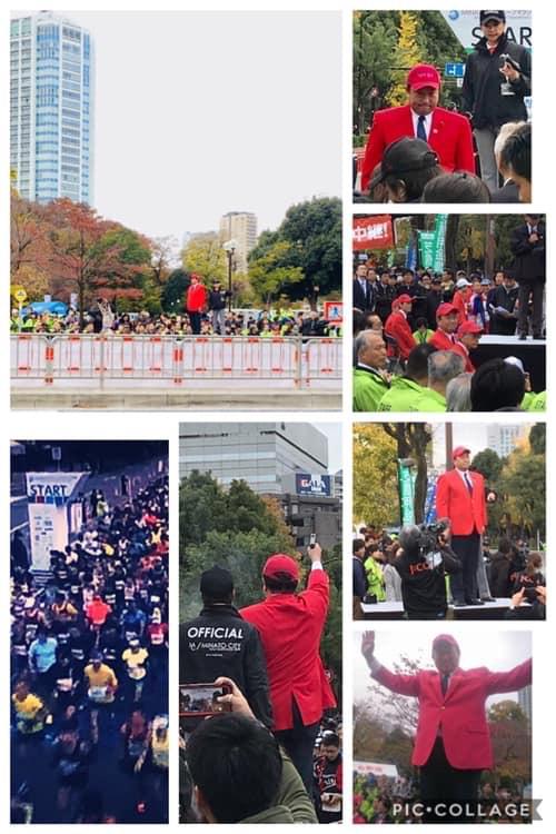 2018年12月2日 港区史上初のMINATOシティハーフマラソン