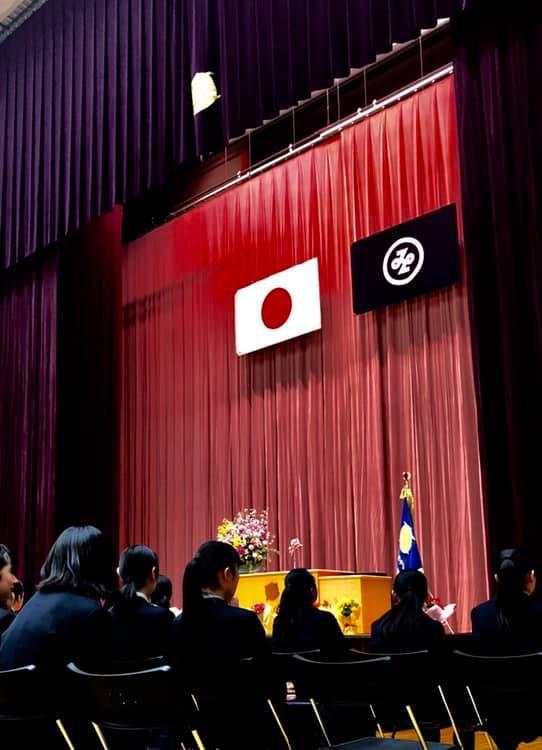 六本木中学校卒業式